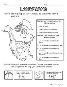 Landforms Worksheets 9th Grade Volcanoes for kids on pinterest ...