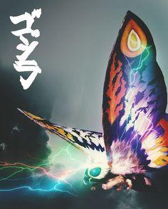 "@kaijufan2014 on Instagram: ""#Godzilla #Mothra #Godzilla2 #GodzillaKingOfTheMonsters #MonsterVerse #Legendary #Toho #Kaiju"" All Godzilla Monsters, Godzilla 2, Monster Verse, Mothra Movie, Creature Concept Art, Fantasy Monster, Slug, Our Lady, Dinosaurs"