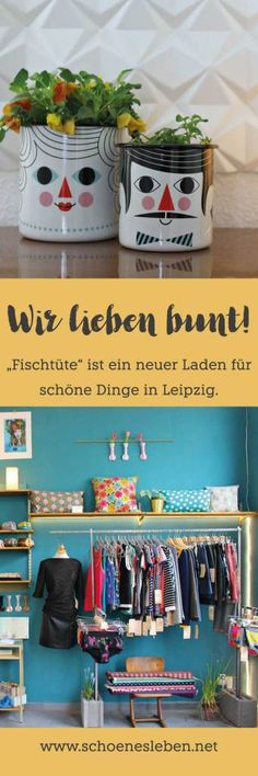 Fischtüte Leipzig: Wir lieben bunt! I schoenesleben.net I #Leipzig #Travelleipzig #Leipzigtipps Bunt, Holiday Decor, Home Decor, Paper Mill, Beautiful Life, Pisces, Amor, Tips, Gifts
