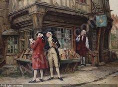 BENNETT Frank Moss, The last customers, Bonhams, London
