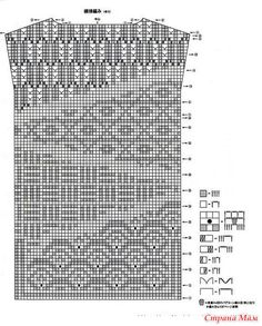 Crochet Diagram, Filet Crochet, Crochet Patterns, Crochet Blouse, Crochet Top, Bracelet Crafts, Knitting Charts, Crochet Purses, Crochet Videos