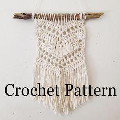 Beach Boho Wall Hanging - Crochet Pattern