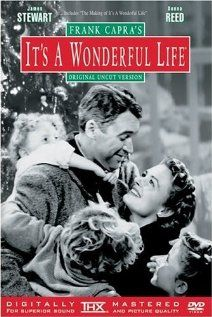 It's a Wonderful Life - my very favorite Christmas movie! I cry at the end every time! #movies #film #holiday
