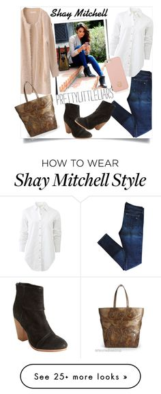 """Shay Mitchell/Pretty Little Liars"" by clotheshawg on Polyvore featuring rag & bone, Tory Burch and DKNY"