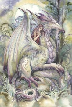 Bergsma Gallery Press :: Paintings :: Fantasy :: Mythological Creatures :: Nothing Happens Unless First... A Dream - Prints