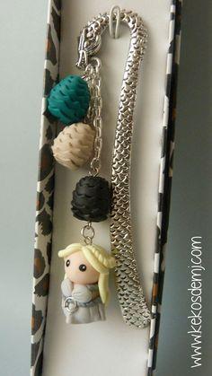 Marcapáginas Daenerys Targaryen / Daenerys Targaryen por KekosdeMJ, €12.00