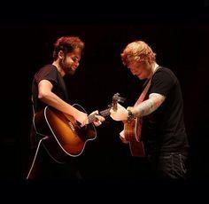 Ed Sheeran and Passenger!