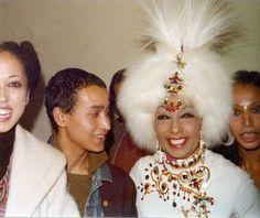 Pat Cleveland, Juan Fernandez, JOSEPHINE BAKER, Donyale Luna c.1970