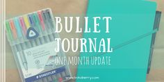 Bullet Journal: One Month Update