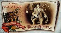 2011 Topps Allen & Ginter - Mini Fortunes for the Taking #9 Butch Cassidy's Loot Front
