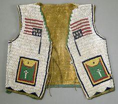 Lakota Sioux Beaded Child's Vest, late 19th century