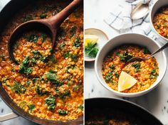 "QUICK SMOKY RED LENTIL STEW FROM ""PRETTY SIMPLE COOKING"" » The First Mess // Plant-Based Recipes + Photography by Laura Wright"