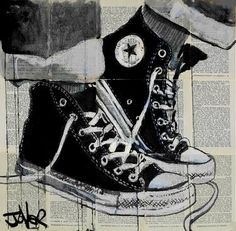 "Saatchi Art Artist Loui Jover; Drawing, ""never a frown"" #art"