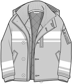 Ideas Fashion Drawing Techniques Products For 2019 Flat Drawings, Flat Sketches, Technical Drawings, Dress Sketches, Fashion Flats, Boho Fashion, Trendy Fashion, Fashion Clothes, Fashion Design Portfolio