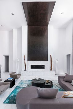 contemporary residence by contour interior design clean simple