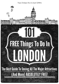 Visit London, Travel Tips, Free Activities | Check this book and find great tips to fall in love with this city for free #travel #London