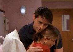 "The moment before Joey proposes to Rachel. | 13 Moments On ""Friends"" That Made You Cry"