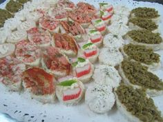productoscoctel2017: Banqueteria express canapes minipizzas minichurras... Pisco Sour, Chefs, Canapes, Sushi, Buffet, Japanese, Ethnic Recipes, Santiago Chile, Baby Shower