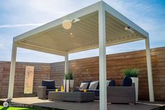 The Prestige Outdoor Living Pod was made for Easter Weekends, in fact it was made for most special occasions. Its flexible nature allows it to swiftly adapt to any scenario to create the perfect setting for all your outdoor living moments. Backyard Seating, Backyard Patio Designs, Outdoor Pergola, Outdoor Rooms, Patio Ideas, Backyard Pergola, Outdoor Kitchens, Pergola With Canopy, Pergola With Lights