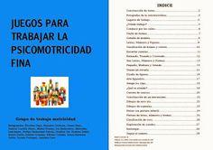 Juegos para trabajar la motricidad fina. | RECURSOS INFANTIL