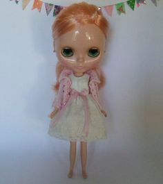 Hand Made Middie Blythe Doll 2ply wool Dress by StorybookBlythe