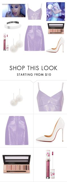 """""""Ariana Grande Focus Inspired look"""" by southfashion19 ❤ liked on Polyvore featuring Tuleste, River Island, Christian Louboutin and L.A. Girl"""