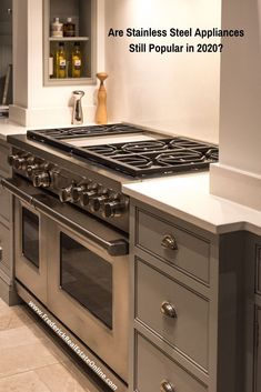 Stainless Steel appliances have been a long-lasting trend in home appliance choices. For more than 2 decades homeowners have loved appliances and fixtures in stainless. But will the trend continue? Stainless Steel Appliances, Kitchen Appliances, Rustic Kitchen, Kitchen Decor, Kitchen Trends, Kitchen Designs, Home Selling Tips, Home Buying Process, Decorating Your Home