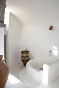 △☆idb #natural #white #home #interior bathroom