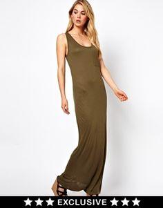 Vila Vest Maxi Dress