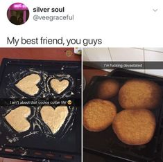 Crying after a spray tan is pretty bad too. And this didn't happen to your cookies. At least they made it Really Funny Memes, Stupid Funny Memes, Funny Relatable Memes, Funny Tweets, Haha Funny, Funny Posts, Funny Cute, Hilarious, Funny Stuff
