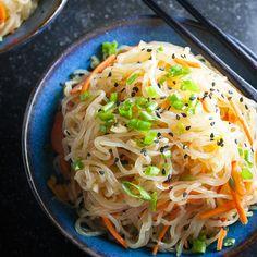 Cold Sesame Noodles with Shirataki