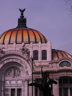 National art museum. Palacio de Bellas Artes - where you find wonderful murals by Rivera, Siqueiros, and Tamayo.