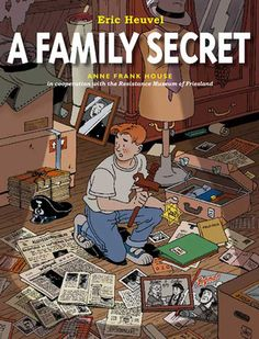 A Family Secret by Eric Heuvel. While searching his grandmother's attic, Jeroen finds a photo album that brings back hard memories for his grandmother. She tells him  about her experiences during the German occupation of the Netherlands and mourns the loss of her Jewish best friend, Esther. She believes that her own father, a policeman and Nazi sympathizer, delivered Esther to the Nazis and that she died in a concentration camp.