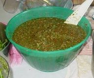Recipe for Puerto Rucan sofrito. Found on El Boricua, a bilingual , cultural publication for Puerto Ricans. Love this site. Check out the recipes. Yum! We cook everything with sofrito beef, chicken, pork, rice everything but desserts. It brings out the flavor of our food and gives it the boricua touch. Everything here is basic Puerto Rican cuisine. Everyone adds their own personal touches. Enjoy