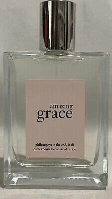 Philosophy Amazing Grace Edt Large Size 4oz 120ml Women Philosophy Amazing Grace Amazing Grace Perfume Bottles
