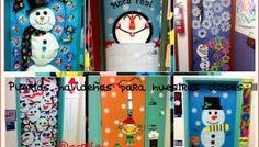 Puertas navideñas para nuestras clases III