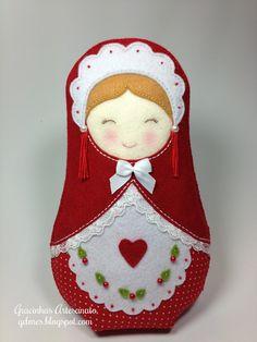 Russian doll felt