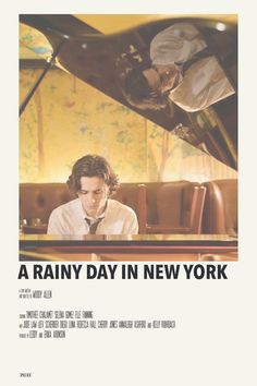 a rainy day in new york by priya - Polaroid Iconic Movie Posters, Minimal Movie Posters, Minimal Poster, Movie Poster Art, Poster S, Iconic Movies, Film Posters, New Movies 2020, Film Movie