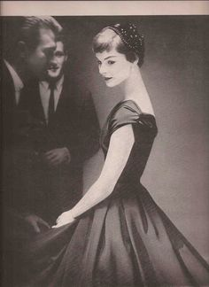 Fashion Editorial - Lillian Bassman Junior Bazaar 1954
