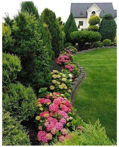 Landscape Design Plans, Garden Design Plans, Backyard Garden Design, Small Garden Design, House Landscape, Backyard Ideas, Backyard Patio, Patio Ideas, Front Yard Landscaping