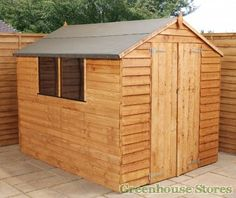 Cotswold Overlap 8x6 Apex Shed  http://www.greenhousestores.co.uk/Cotswold-Overlap-8x6-Apex-Shed.htm