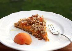 Marhuľový koláč bez múky a cukru - recept