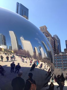 The Bean / Chicago Places To See, The Good Place, Gate, Chicago, Clouds, Travel, Voyage, Viajes, Traveling
