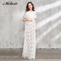 At A Sheek Boutique we have fashion Maternity dress Flower Jacquard Dress Sleeveless Lace Pregnancy Dresses White Lace Maternity Dress, Maternity Fashion Dresses, Maternity Clothing, Maternity Photography Props, Dress Pesta, Jacquard Dress, Lace Skirt, Girls Dresses, Pregnancy Dress