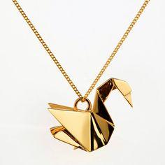 Rock It! The Immortalisation of a Swan: Origami Jewellery ~ Rockin' That Gem