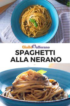 Spaghetti alla Nerano: una ricetta dai sapori campani, un primo piatto della tradizione culinaria partenopea che conquista da sempre con la sua genuina semplicità. Il segreto? Un formaggio davvero speciale! #spaghetti #nerano #pasta #campania #napoli #napoletana #provolone #cheese #zucchine #courgette #zucchini #italian #food #traditional #easy #quick #recipe #ricetta #facile #veloce #giallozafferano [Easy italian Nerano spaghetti recipe] Spaghetti Vongole, Rice Soup, Gnocchi, Pasta Dishes, Pasta Recipes, Food And Drink, Salad, Meals, Dinner