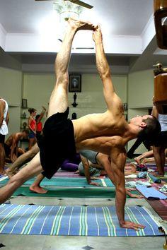 Strength and Steadiness (by govindakai)  Third Series - Ashtanga Yoga (in Mysore!)