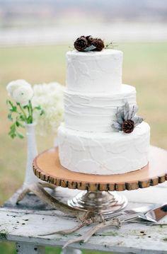 REVEL: Rustic Winter Cake