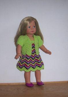 American Girl PDF knitting pattern for 18 doll von VintageKnitnaks