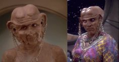 Another purpose of gendered attire comes back to the designation of class. Whether it is a matriarchy or patriarchy, like in many caste systems, the differentiation of clothes will denote the hierarchy. The Ferengi from Star Trek are a perfect example of this; their costumes are completely dedicated to the presentation of status. As Ferengi females had no status, they were naked by law. In this situation, the gendered dress predesigned to augment sexual dimorphism gets tied to the concept of…